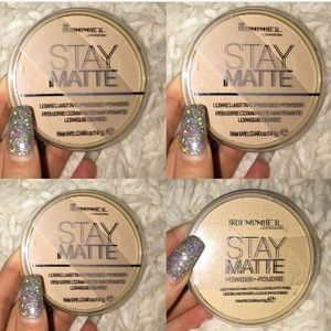 4 PACK RIMMEL POWDERS